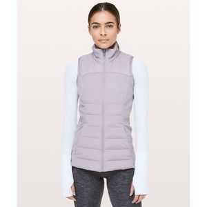 Lululemon Down For It All Vest Dark Chrome 6